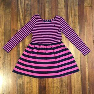 Ralph Lauren toddler girls striped dress